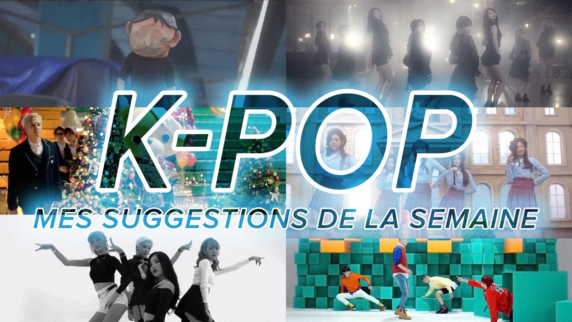 Vidéo K-Pop 22 au 28 novembre 2015