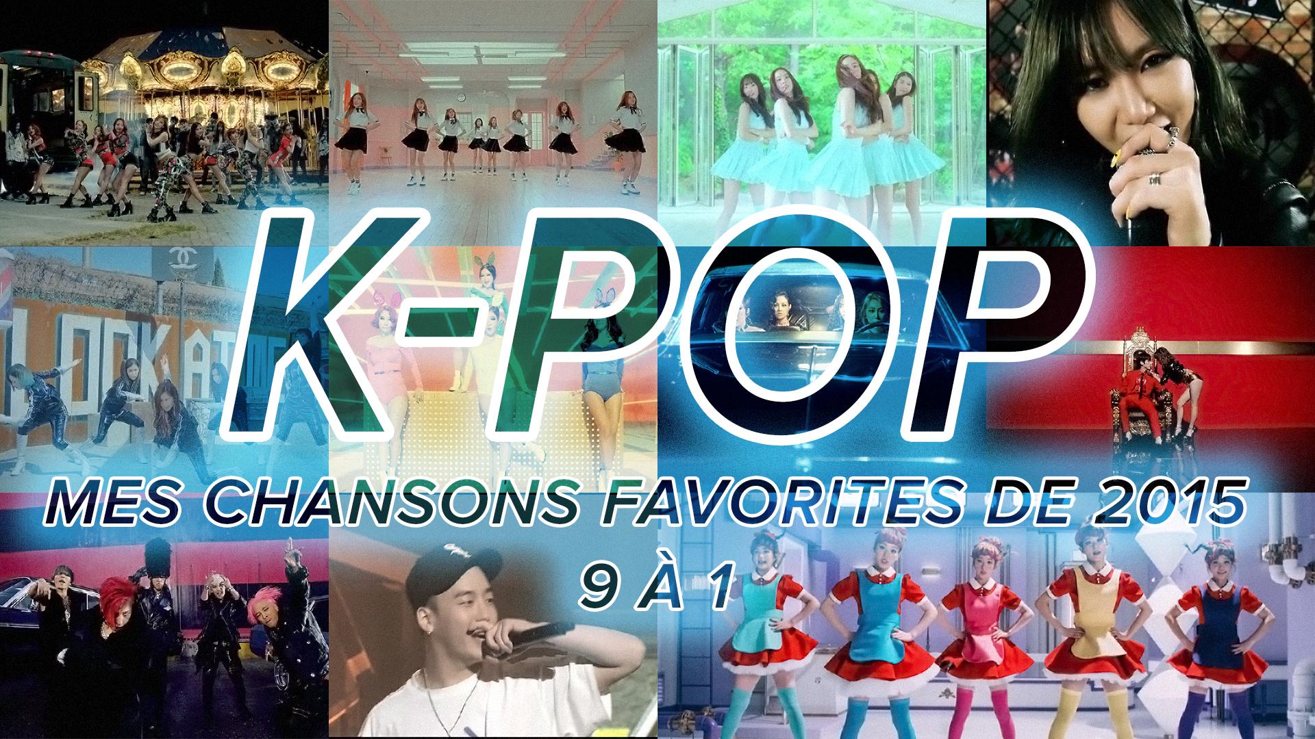 K-Pop 2015 : 9 à 1
