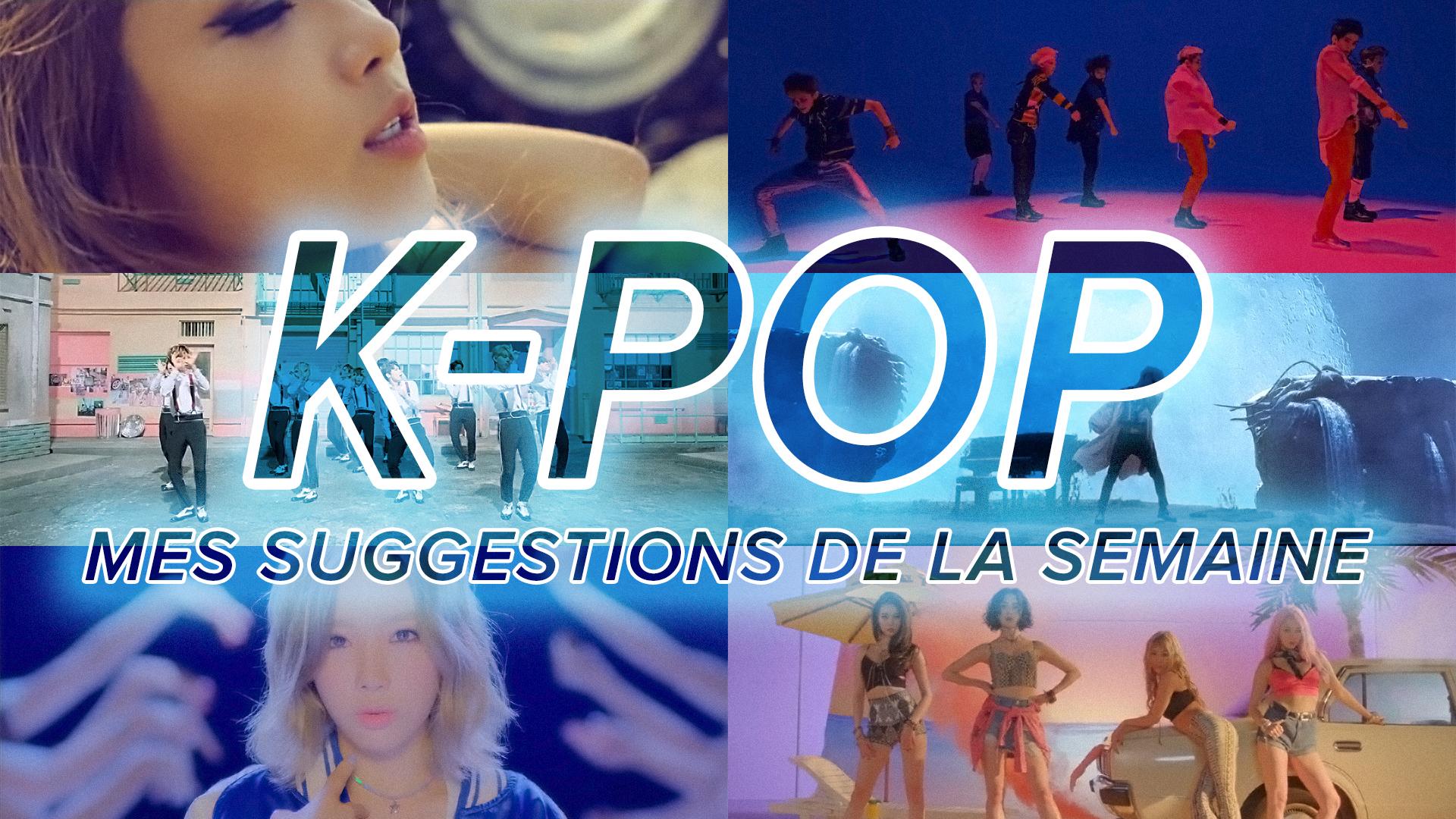 K-Pop du 3 au 9 juillet 2016