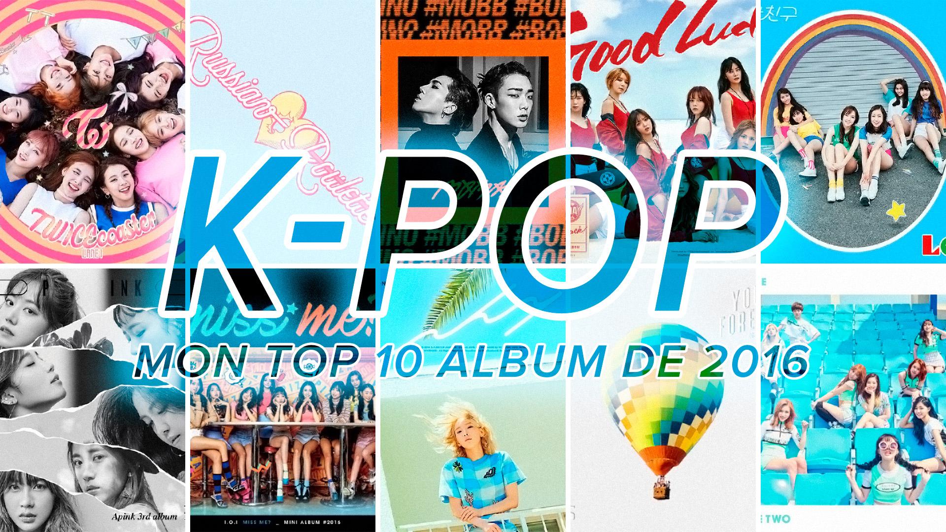 Top 10 album K-Pop de 2016
