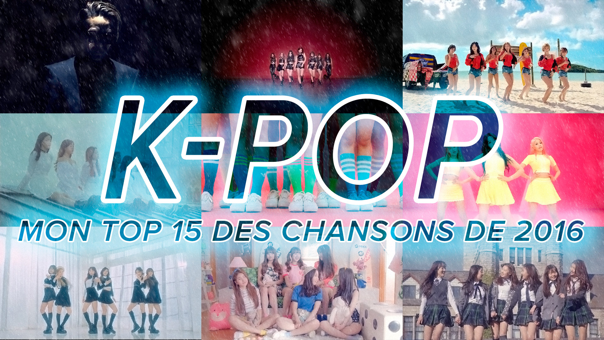 Mes chansons favorites K-Pop de 2016
