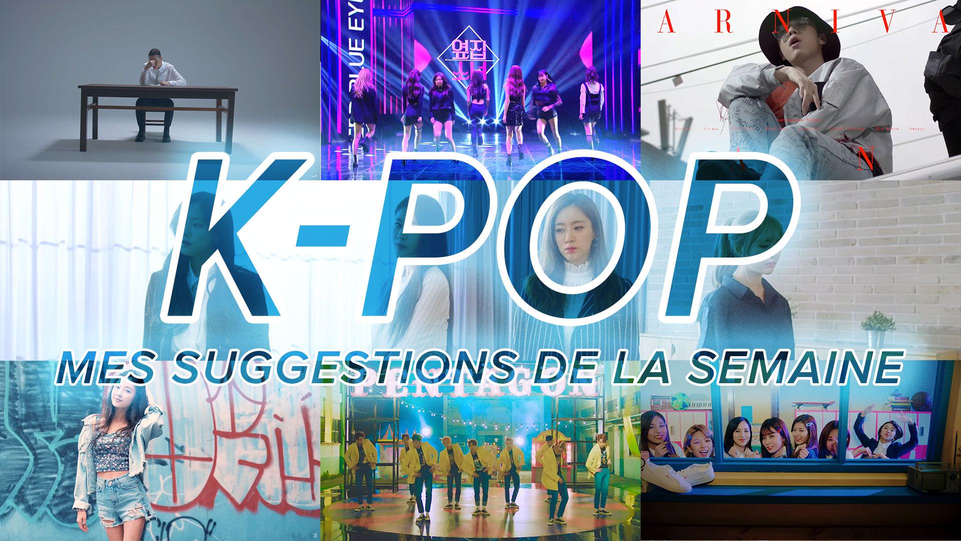 K-Pop du 11 au 17 juin 2017